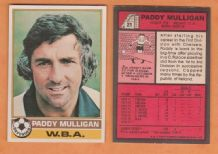 West Bromwich Albion star Paddy Mulligan Eire 21